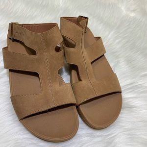 309e588c6f0 Fitflop Shoes - Fitflop Arena Gladiator Nubuck Leather Sandal 7